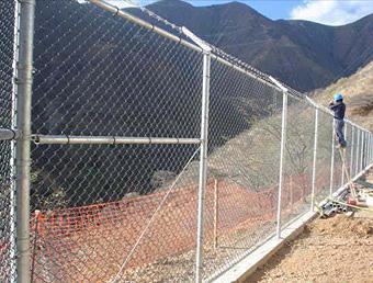 Mallas metalicas para cerco perimetrico